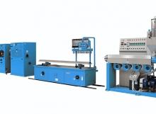 Linea per la produzione di profili rigidi in PVC