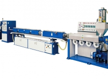 Linea per la produzione di tubi in PVC/PE/PP
